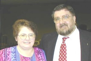 Howard & Georgene in 2000